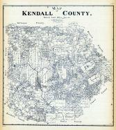Kendall County Historical Map