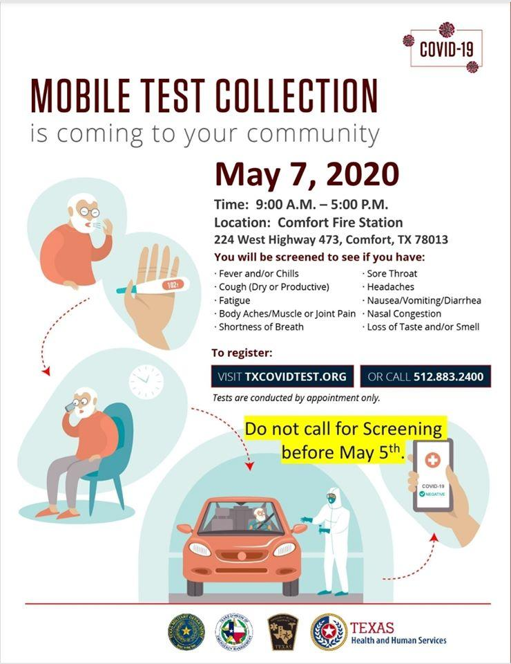 Mobile Testing Site Flyer